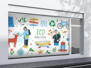 druk folii samoptrzylepnej eco-friendly