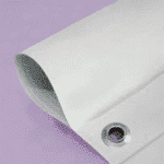 banner sleeve with eyelet